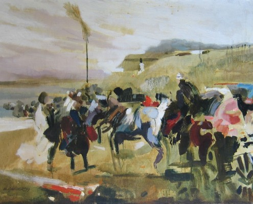 Hommage a Jozef Brandt, 54x73 cm