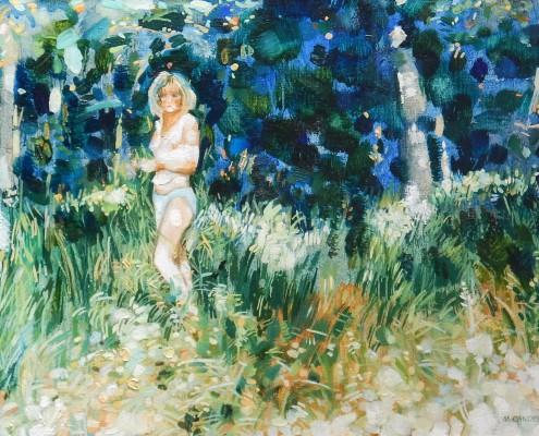 Na polanie II, 33x45 cm, 2000