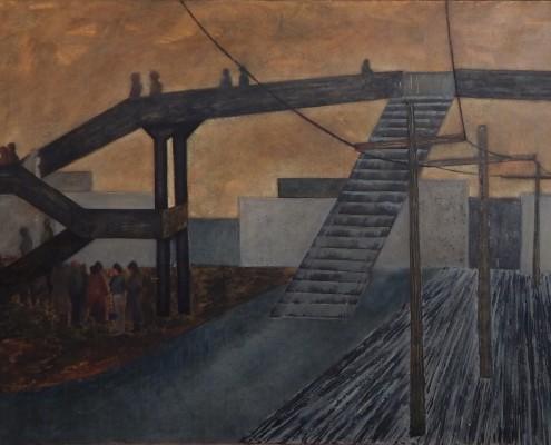 Kładka cz. 1, 70x100 cm, 1988