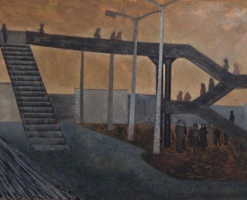 Kładka cz. 2, 70x100 cm , 1988