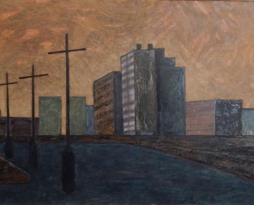 Kładka cz. 4, 70x100 cm, 1988