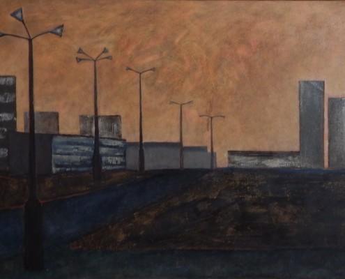 Kładka cz.3, 70x100 cm, 1988