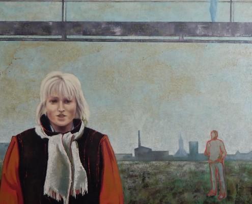Mariola, 100x100 cm, 1989