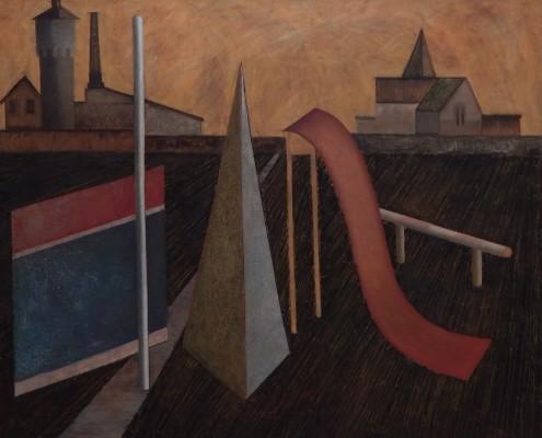 Zagubione rzeczy IV, 100x120 cm, 1988