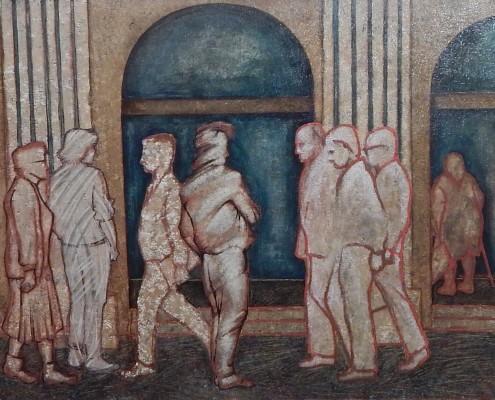 Znak chwili, 50x80 cm, 1989