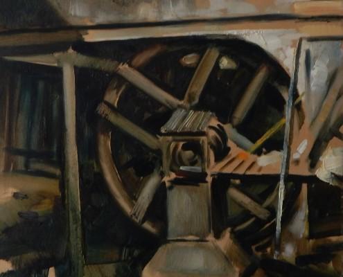 Młyn w Oliwie, 40x50 cm, olej, płotno, 2006