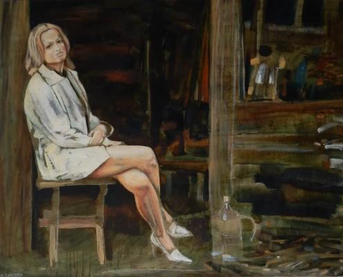 Anna 73x92 cm, 2004